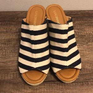 Lane Bryant Slip On Espadrille Wedges Size 11W
